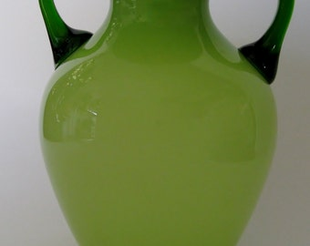 Glass Amphora Vase