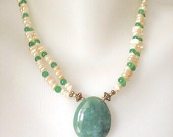 Pearl Jade Necklace