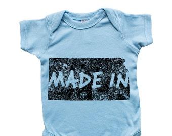 Made In Kansas Baby Infant Bodysuit Onesie