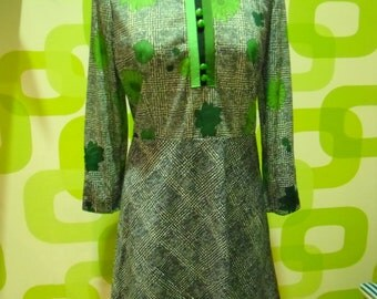 abito  sartoriale vintage,dress,1970,made in italy