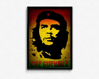 Che Guevara, Che Guevara Art, Che Guevara Print, Che Guevara Poster, Che Guevara Home Decor, Che Guevara Decor, Che Guevara Gift, Che Prints