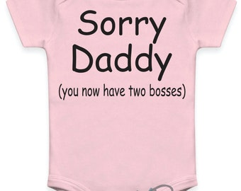 Funny Onesie | Funny Baby Onesie | Baby Girl Onesie | Funny Baby Shirt | Baby Onesie