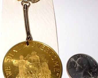 Vintage Selma Civil Rights March commemorative Key chain