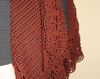 Drape Vest Crochet