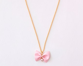 HOPE Necklace for Girls in Pink
