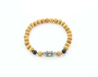 Meditation bracelet, beaded bracelet, boho bracelet, mala bracelet, mala beads, meditation jewelry, meditation bracelet, dalai mala