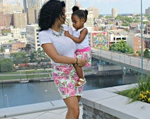 mommy and me outfits - matching mother daughter outfits - mommy and me skirts - mother daughter skirts - mommy and daughter matching