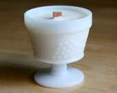 Vintage Milk Glass Soy Candle - Choose your scent!