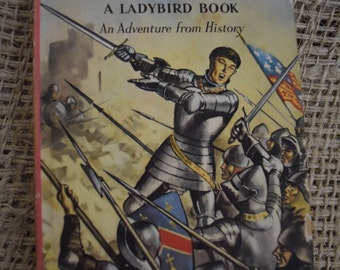 Henry V. A Vintage Adventure from History Ladybird Book. 1st Edition. Dust Jacket. Unclipped. Series 561
