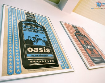 Oasis - Gig / Concert / Billboard Poster - High Quality Print