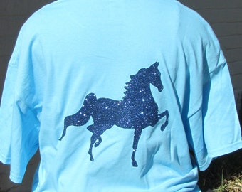 Glitter Saddlebred!