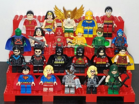 Justice League Pick Your Set of 5 DC Inspired Minifigures