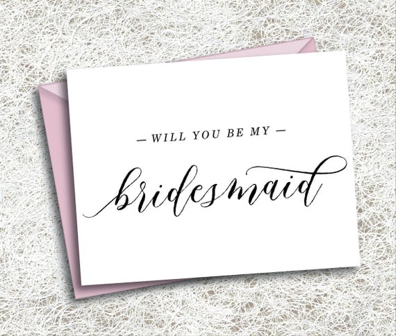Ridiculous image with regard to printable will you be my bridesmaid