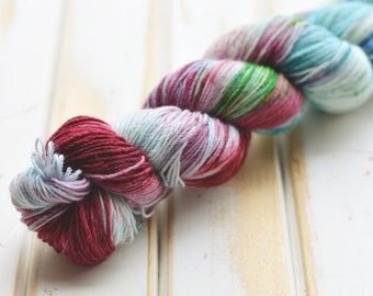 Hand Dyed Sock Yarn - Bunaken