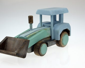 Wooden Digger , Wooden Toy, Toddler Toys