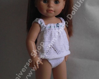 Hand Made Shirt with Underpants for Paola Reina Soy Tu Doll 40cm / 16 inch doll