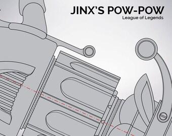 League of Legends: Jinx - Pow-Pow Blueprint