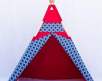 Red Teepee, High Quality Teepee, Play house