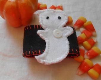 Napkin Rings, Ghost, Halloween