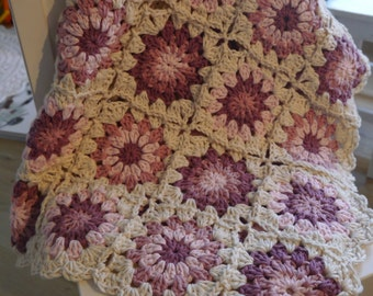 Evening sunset baby blanket