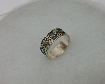 Ring Silver 925 friend sheep handmade SR724
