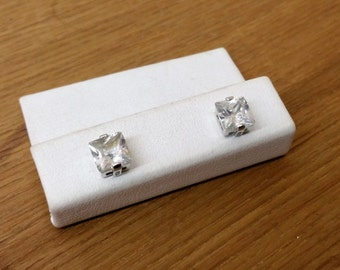Earrings Silver 925 crystal earrings SO243