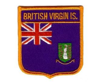 British Virgin Islands Patch (Iron on)