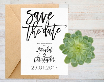 Save the date printable, Save the date rustic save the date, Wedding save the date, Modern save the date, Printable save the date cards