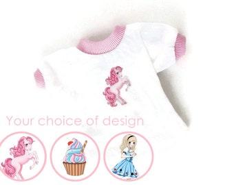 BJD clothes - bjd tshirt - sd clothes - msd clothes - minifee clothes - iplehouse jid - yosd clothes - bjd clothing - 1/3 1/4 1/6 bjd - cute