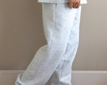 WWYF Baggy 90s Slouch Fit Joggers in Grey