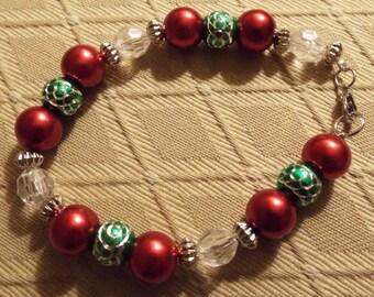 Cheerful Holiday Bracelet