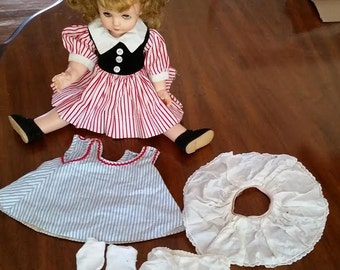 """Madame Alexander 15"""" 1958 Doll With Clothes MaryBel Face Kelly"""