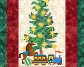 Tis the Season - Christmas Applique Quilt Pattern - SVG & PDF