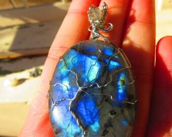 "Labradorite Tree of Life - ""Ascension"""