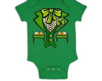 Leprechaun Costume baby grow