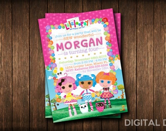 LaLaLoopsy Invitation | La La Loopsy Invite | LaLa Loopsy Invitations | Birthday | Party | Digital File