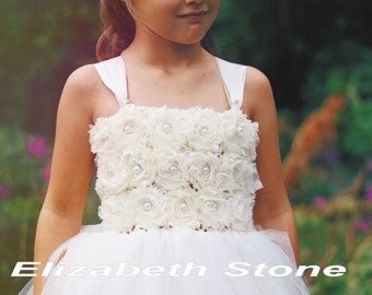 Tutu Flower Girl Dress with FREE under slip