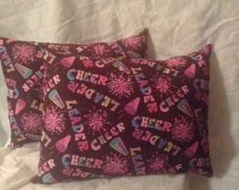 Cheer Leader Pillow Decorative Pillow Cheerleading bedding throw pillow