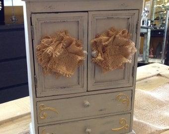 Vintage Jewelry Cabinet