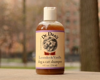 Dr.Dan's Lavender Vanilla Natural Pet Shampoo for Dogs and Cats
