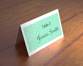 Mint wedding Wedding place cards Place cards Wedding seating cards Wedding seating place cards Place cards printable Place cards wedding T29