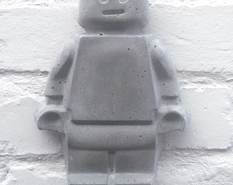 Large Concrete Man Hanging Figure
