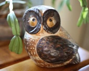 Vintage OMC Japan Ceramic Owl