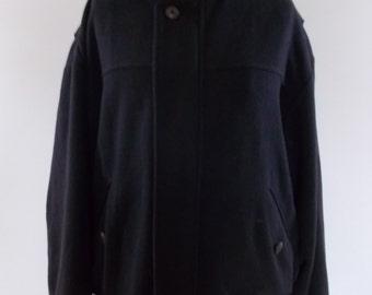 Vintage bomber jacket mens Classic  Bomber jacket by St Michael size Large