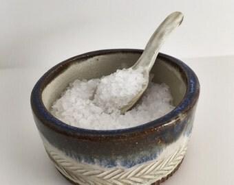 Herringbone Salt Cellar