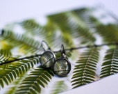 Fern Earrings, Fern Drop Earrings, Leaf Earrings, Botanical Earrings, Botanical Jewellery, Nature Inspired, Nature Jewellery, Green Drops