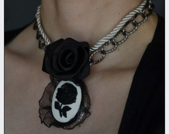"Choker/necklace: ""Vintage Breeze"""