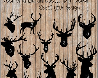 Hunting Decals Etsy - Hunting decals for trucks