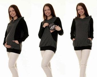 Maternity sweaters still sweater 3-in-1 maternity wear