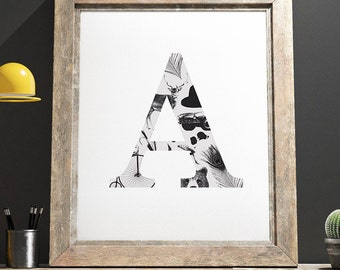The Gentlmans Collection Print 'A'